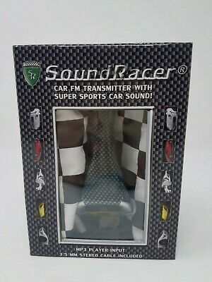 NEW SoundRacer Sports Engine Sound Effect Car Gadget Transmitter FREE SHIPPING