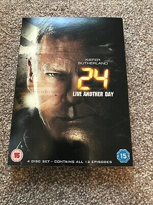 24: Live Another Day DVD (2014) Kiefer Sutherland