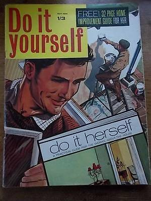 Vtg 1960s Magazine 1966 Do it Yourself DIY Home Improvements Fitted Furniture