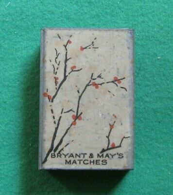 Vintage BRYANT & MAY'S Metal Match Box Cover