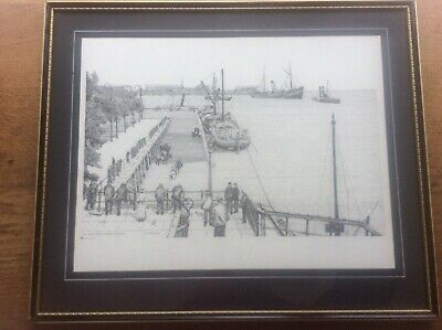 Victoria Pier Hull The Horse Wash River Humber by Shirley Goodsell Rosalie Stamp