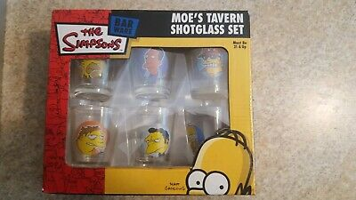 The Simpson's Barware: Moe's Tavern Shotglass Set