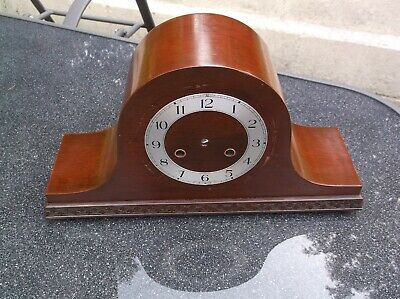 Top Hat Mantle Clock Case (Wooden Case Only)For Restoration