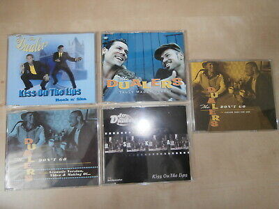 THE DUALERS 5 x CD Singles, KISS ON LIPS Promo, DON`T GO, TRULY MADLY DEEPLY Ska