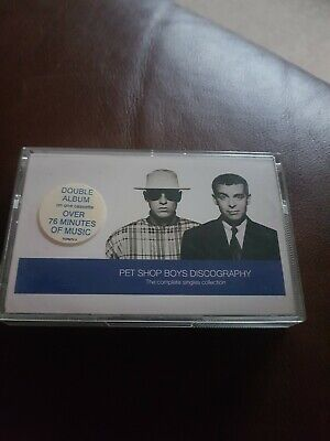 Pet Shop Boys - Discography : The Complete Singles Collection Cassette
