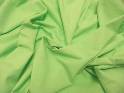 Quality Plain 60 SQ Pure Cotton Fabric Material - MINT