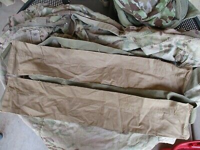 Original WWII Early Khaki M1 Garand Rifle Bandoleers, 2 Bandoleer Lot, Unissued