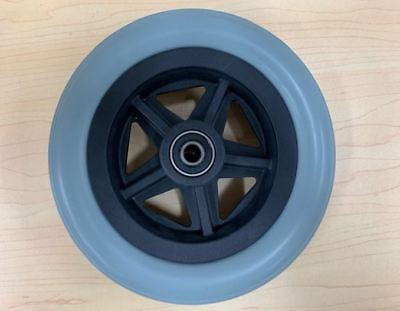 Replacement 6'' Wheelchair Front Castor Wheel - With Twin Bearings, Easy Install
