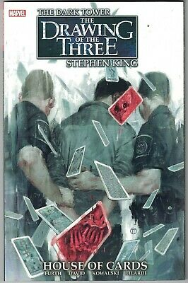 Stephen King DARK TOWER DRAWING OF THE THREE HOUSE OF CARDS TP TPB $19.99srp NEW