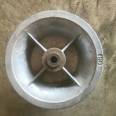 "Campbell 10"" x 5"" Aluminum Sheave, Great Condition, Roller Only"