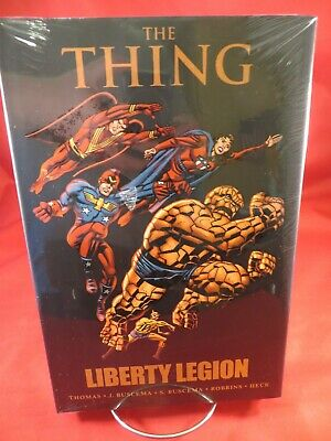 THING LIBERTY LEGION HC Hardcover $24.99 srp Invaders Fantastic Four NEW SEALED