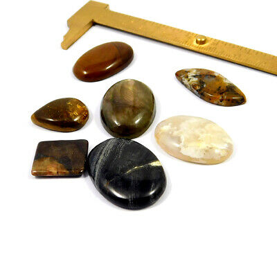138 Cts. 100% Natural Lot Of Mix Stone Loose Cabochon Gemstone NG21132