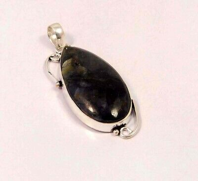 Picasso Jasper .925 Silver Plated Handmade Pendant Jewelry JC6086