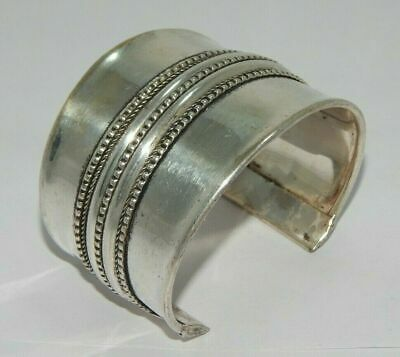 Great Designer Tibetan German Silver Handmade Cuff Fashion Jewelry C114