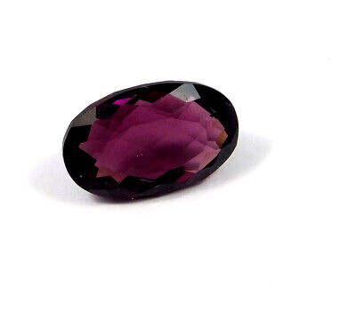 21 Cts. Natural Faceted Oval Shape Purple Hydro Cut Gemstone AAK1597