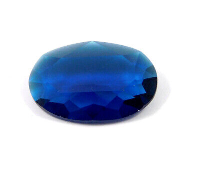 27 Cts. Natural Faceted Oval Shape Blue Hydro Cut Gemstone AAK1407