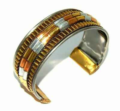 Great Designer Tibetan Golden & Silver Cuff Fashion Jewelry C291