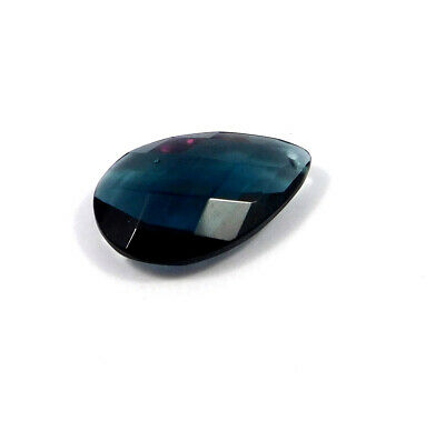 25 Cts. Natural Faceted Pear Shape Blue Hydro Cut Gemstone AAK1662