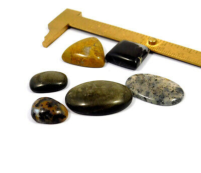 93 Cts. 100% Natural Lot Of Mix Stone Loose Cabochon Gemstone NG21129