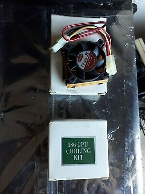 Vintage 586 CPU cooler new in box