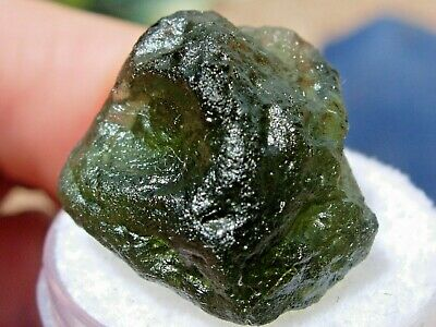 MOLDAVITE FROM CZECH Republic, Nova Hospoda 21 2gr  Great