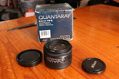 Quantaray Tech-10 (Sigma) 24mm f2.8 for Sony A-mount.