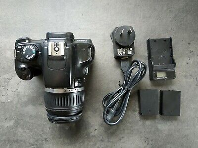 Canon EOS 1100D 12.2MP DSLR with 18-55mm Lens, 2x new batteries and charger