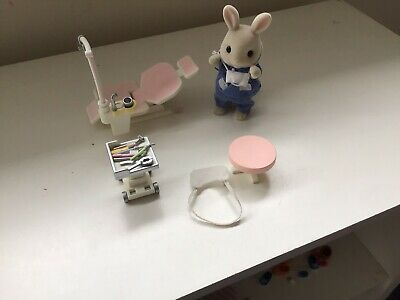 sylvanian families used Dentist, Music Set