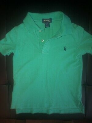 LOT of 2 - Ralph Lauren Polo Toddler Boys Unisex Size 2T Polo Tee Shirt Teal