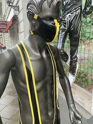 latex rubber Face Mask