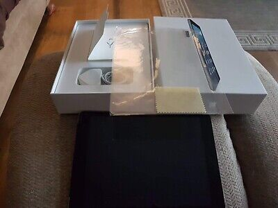 Apple iPad Air 1st Gen. 32GB, Wi-Fi, Cellular 9.7in - Space Grey, boxed complete