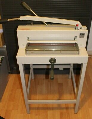 Ideal 3905 Manual Guillotine with Floor Stand