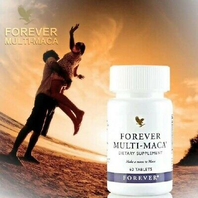 FOREVER MULTI MACA/ HELP TO INCREASE ENERGY, STAMINA & LIBIDO/ 60 Tablet