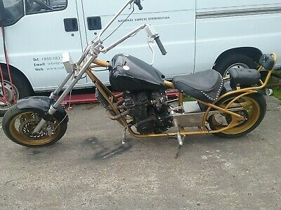 Suzuki gsxr 750 Slingshot Chopper For Sale or swap