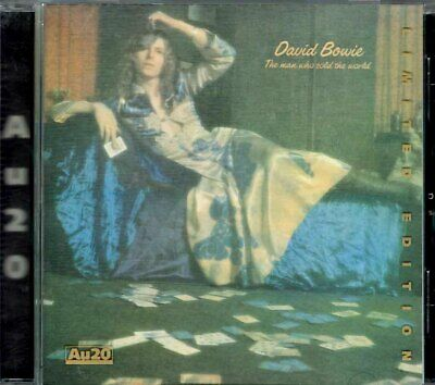 David Bowie The Man Who Sold The World Ryko 24K Gold Cd