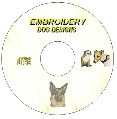 Photostitch Dogs Over 71 Embroidery Designs For Brother Machine Pes Cd