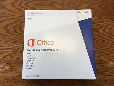 Microsoft Office Professional Academic 2013 - Free post