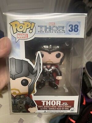 Funko POP! THOR With Helmet #38 The Dark World EXCLUSIVE VAULTED