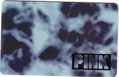PINK VICTORIA'S SECRET COLLECTIBLE Gift Card New No Value *BILINGUAL*