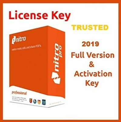 Nitro Pro 12.12 Lifetime License Key Instant Delivery Trusted