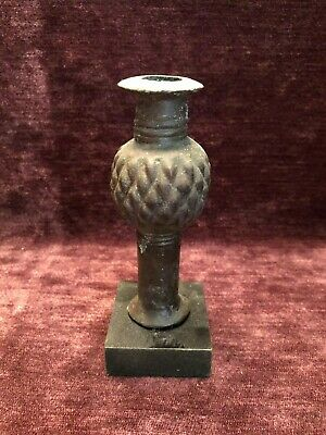 Mace Head- Bronze. With Display Mount