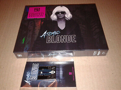 Atomic Blonde 4K UHD + 2D Blu-ray Steelbook FullSlip Type C Kimchidvd (The Blue)