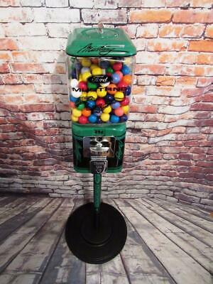 vintage Ford Mustang  candy gumball machine Acorn coin op glass globe bar gift