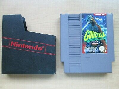 Nintendo - NES - Godzilla Monster of Monsters - GAME ONLY