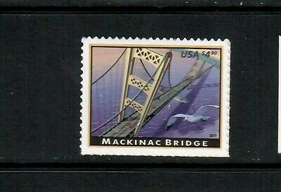 USA #4438 MNH, Mackinac Bridge, Express/Priority stamp, FV $4.60 Free Shipping