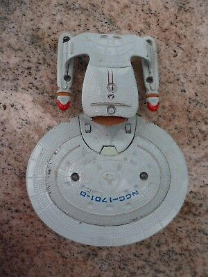 Vintage 1987 Star Trek USS Enterprise Spaceship Die-Cast Metal NCC#1701 Classic