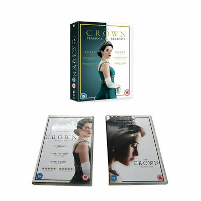 The Crown Season 1-2 TV Series DVD Box Set Complete First Second Collection UK