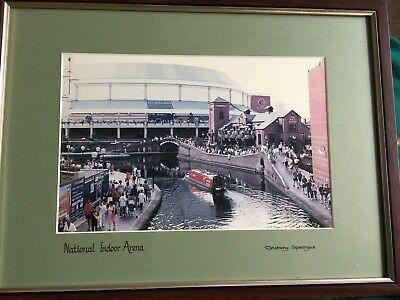 9 X Antony Spettigue Signed Birmingham Photographs Framed