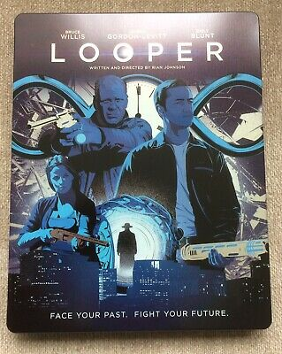 Looper Blu Ray Steelbook