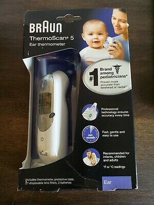 Braun ThermoScan 5 Thermometer Ear IRT6500
